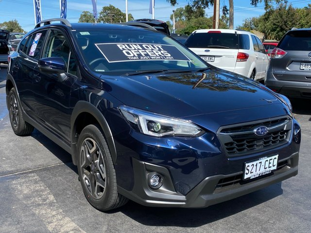 Demo Subaru XV G5X MY19 2.0i-S Lineartronic AWD, 2019 Subaru XV G5X MY19 2.0i-S Lineartronic AWD Dark Blue Pearl 7 Speed Constant Variable Wagon