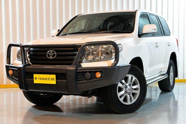 Used Toyota Landcruiser VDJ200R MY13 GXL, 2014 Toyota Landcruiser VDJ200R MY13 GXL White 6 Speed Sports Automatic Wagon