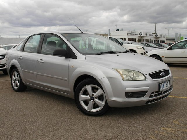 Used Ford Focus LS LX, 2006 Ford Focus LS LX Silver 4 Speed Sports Automatic Sedan