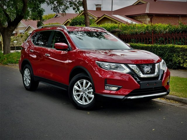 New Nissan X-Trail T32 Series 2 ST-L 7 Seat (2WD) (5Yr), 2019 Nissan X-Trail T32 Series 2 ST-L 7 Seat (2WD) (5Yr) Ruby Red Automatic Wagon