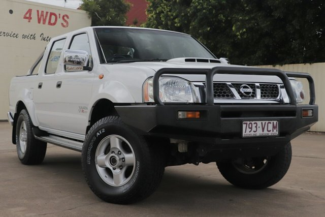 Used Nissan Navara D22 S5 ST-R, 2013 Nissan Navara D22 S5 ST-R White 5 Speed Manual Utility