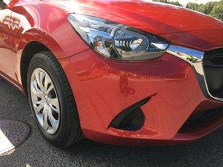 2017 Mazda 2 DJ2HA6 Neo SKYACTIV-MT Red/Black 6 Speed Manual Hatchback.
