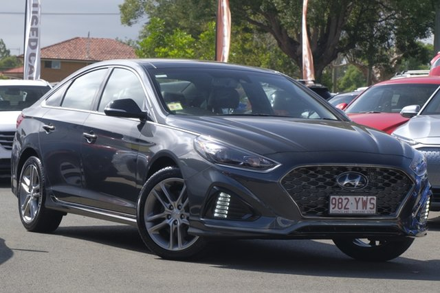 Used Hyundai Sonata LF4 MY19 Premium, 2018 Hyundai Sonata LF4 MY19 Premium Pantera Grey 8 Speed Sports Automatic Sedan