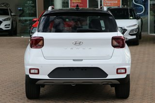 2020 Hyundai Venue QX.2 MY20 Elite Polar White 6 Speed Automatic Wagon