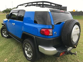 2012 Toyota FJ Cruiser GSJ15R Voodoo Blue 5 Speed Automatic Wagon