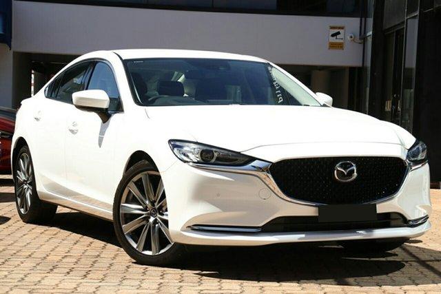 New Mazda 6 GL1032 GT SKYACTIV-Drive, 2019 Mazda 6 GL1032 GT SKYACTIV-Drive Snowflake White Pearl 6 Speed Sports Automatic Sedan