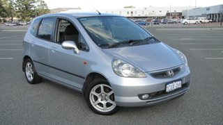 2004 Honda Jazz GD MY05 VTi Silver 5 Speed Manual Hatchback.