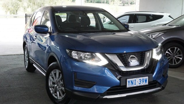 Used Nissan X-Trail T32 Series II ST X-tronic 2WD, 2018 Nissan X-Trail T32 Series II ST X-tronic 2WD Marine Blue 7 Speed Constant Variable Wagon