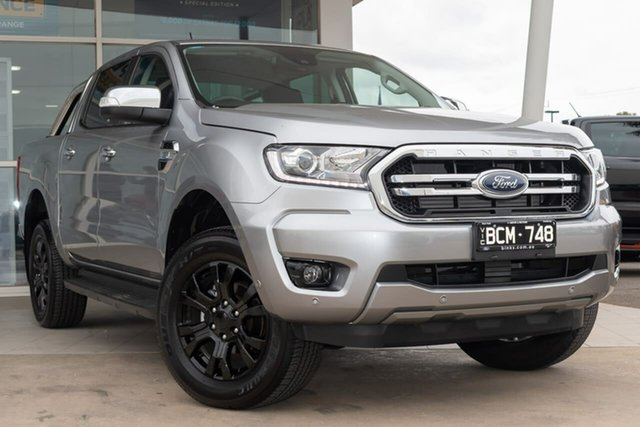 Used Ford Ranger PX MkIII 2019.75MY XLT Pick-up Double Cab, 2019 Ford Ranger PX MkIII 2019.75MY XLT Pick-up Double Cab Aluminium 6 Speed Sports Automatic