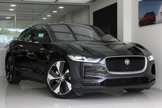 2019 Jaguar I-Pace X590 MY20 SE Santorini Black 1 Speed Automatic Wagon.