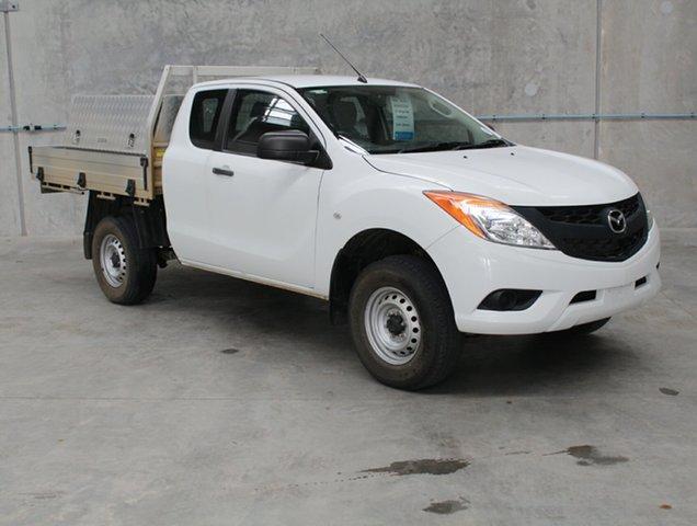 Used Mazda BT-50 UP0YF1 XT Freestyle 4x2 Hi-Rider, 2014 Mazda BT-50 UP0YF1 XT Freestyle 4x2 Hi-Rider White 6 speed Manual Cab Chassis