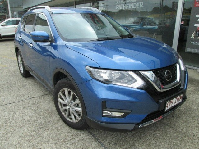 Demo Nissan X-Trail T32 Series II ST-L X-tronic 2WD, 2019 Nissan X-Trail T32 Series II ST-L X-tronic 2WD Marine Blue 7 Speed Constant Variable Wagon