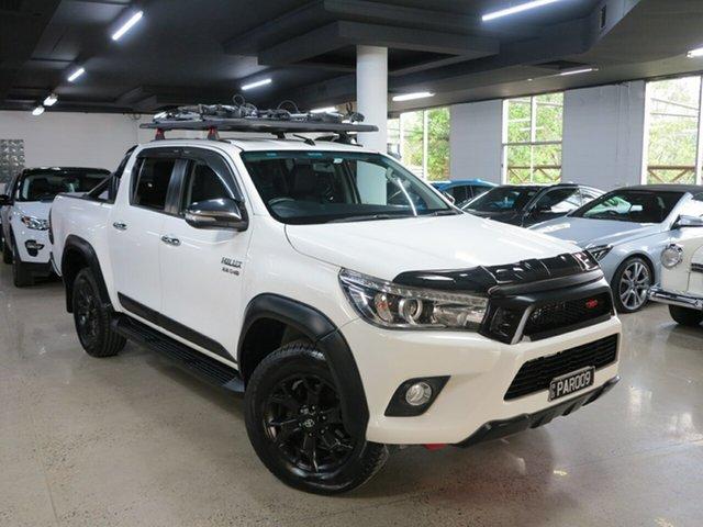 Used Toyota Hilux GUN126R SR5 Double Cab, 2017 Toyota Hilux GUN126R SR5 Double Cab White 6 Speed Sports Automatic Utility