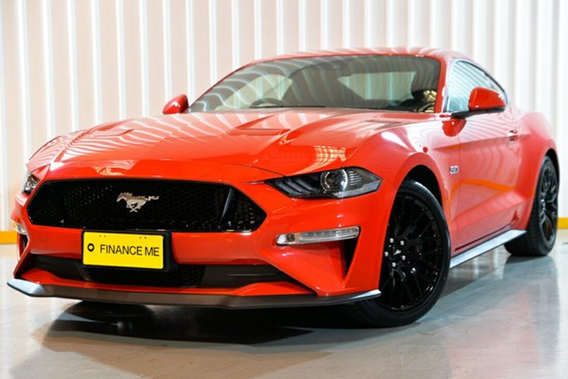 Used Ford Mustang FN 2018MY GT Fastback, 2018 Ford Mustang FN 2018MY GT Fastback Red/Black 6 Speed Manual Fastback