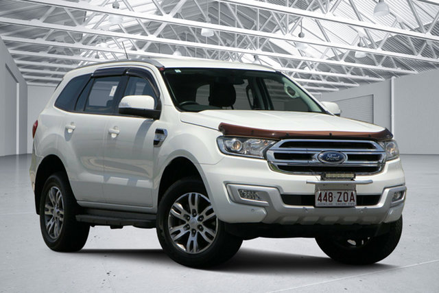Used Ford Everest UA Trend, 2015 Ford Everest UA Trend White 6 Speed Automatic Wagon