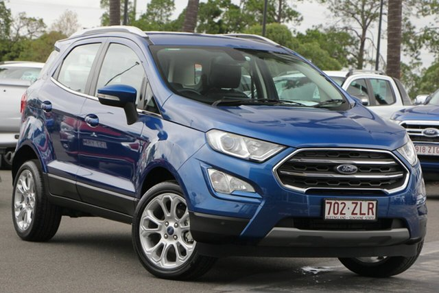 Used Ford Ecosport BL 2020.00MY Titanium, 2019 Ford Ecosport BL 2020.00MY Titanium Blue 6 Speed Automatic Wagon