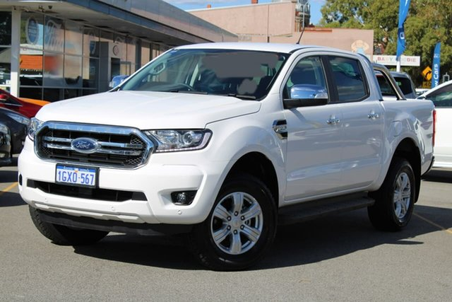 Used Ford Ranger PX MkIII 2019.75MY XLT Pick-up Double Cab, 2019 Ford Ranger PX MkIII 2019.75MY XLT Pick-up Double Cab White 6 Speed Sports Automatic Utility