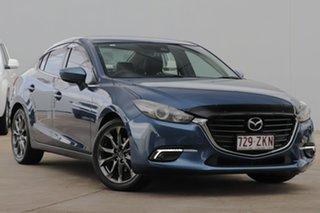 2016 Mazda 3 BN5276 Touring SKYACTIV-MT Blue 6 Speed Manual Sedan.