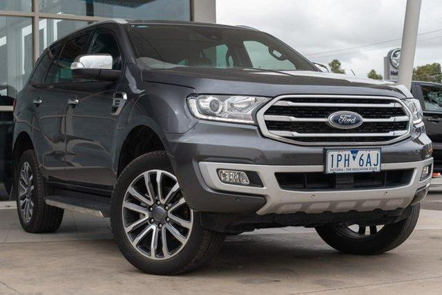 Used Ford Everest UA II 2019.00MY Titanium 4WD, 2019 Ford Everest UA II 2019.00MY Titanium 4WD 10 Speed Sports Automatic Wagon
