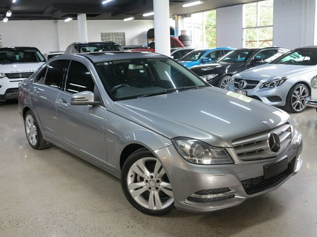 Used Mercedes-Benz C-Class W204 MY11 C250 BlueEFFICIENCY 7G-Tronic + Avantgarde, 2011 Mercedes-Benz C-Class W204 MY11 C250 BlueEFFICIENCY 7G-Tronic + Avantgarde Grey 7 Speed