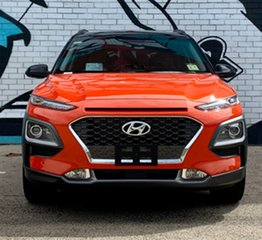 2020 Hyundai Kona OS.3 MY20 Highlander TTR (FWD) Tangerine Comet & Black Roof 6 Speed Automatic