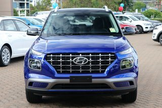 2019 Hyundai Venue QX MY20 Elite Intense Blue 6 Speed Automatic Wagon