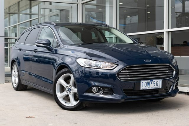 Used Ford Mondeo MD 2018.75MY Trend PwrShift, 2019 Ford Mondeo MD 2018.75MY Trend PwrShift Blue 6 Speed Sports Automatic Dual Clutch Wagon