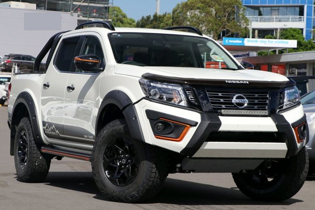 New Nissan Navara D23 Series 4 MY20 N-Trek Warrior (4x4), 2020 Nissan Navara D23 Series 4 MY20 N-Trek Warrior (4x4) White Diamond 7 Speed Automatic
