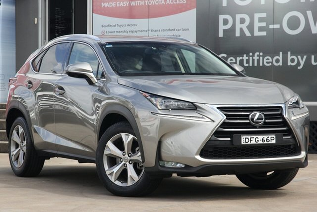 Used Lexus NX200T AGZ15R Sports Luxury (AWD), 2016 Lexus NX200T AGZ15R Sports Luxury (AWD) Silver 6 Speed Automatic Wagon