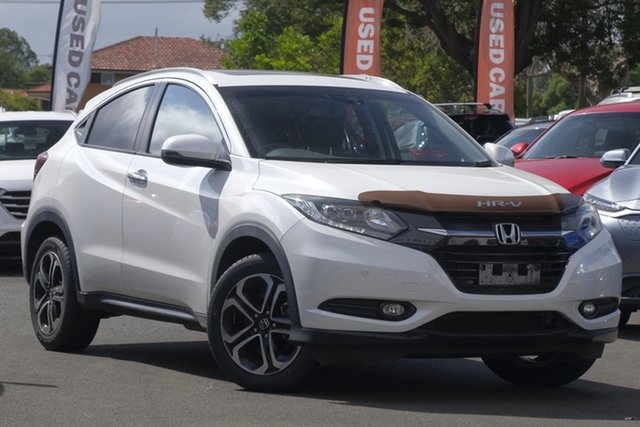 Used Honda HR-V MY16 VTi-L, 2016 Honda HR-V MY16 VTi-L White 1 Speed Constant Variable Hatchback