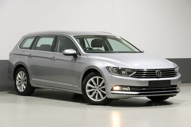 Used Volkswagen Passat 3C MY18 132 TSI Comfortline Bentley, 2018 Volkswagen Passat 3C MY18 132 TSI Comfortline Pyrite Silver 7 Speed Auto Direct Shift Wagon