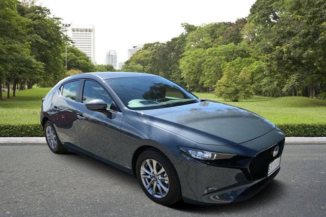 Used Mazda 3 BP2H7A G20 SKYACTIV-Drive Pure, 2019 Mazda 3 BP2H7A G20 SKYACTIV-Drive Pure Grey 6 Speed Sports Automatic Hatchback