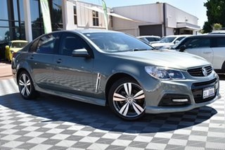 2014 Holden Commodore VF MY14 SV6 Grey 6 Speed Sports Automatic Sedan.