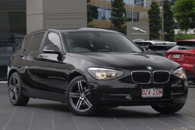 Used BMW 1 Series F20 MY0314 116i Steptronic, 2014 BMW 1 Series F20 MY0314 116i Steptronic Black 8 Speed Sports Automatic Hatchback