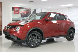 2019 Nissan Juke F15 TI-S Red 1 Speed Constant Variable Hatchback.
