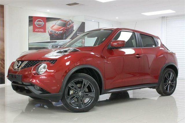 Used Nissan Juke F15 TI-S, 2019 Nissan Juke F15 TI-S Red 1 Speed Constant Variable Hatchback