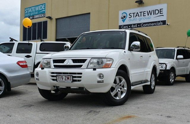 Used Mitsubishi Pajero NS Exceed LWB (4x4), 2006 Mitsubishi Pajero NS Exceed LWB (4x4) 5 Speed Auto Sports Mode Wagon