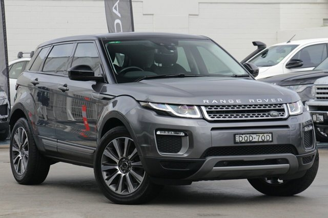 Used Land Rover Range Rover Evoque L538 MY17 TD4 150 SE, 2017 Land Rover Range Rover Evoque L538 MY17 TD4 150 SE Corris Grey 9 Speed Sports Automatic Wagon