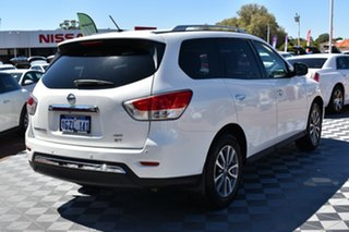 2014 Nissan Pathfinder R52 MY14 ST X-tronic 4WD White 1 Speed Constant Variable Wagon