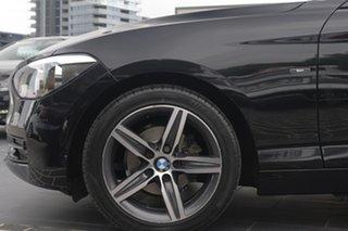 2014 BMW 1 Series F20 MY0314 116i Steptronic Black 8 Speed Sports Automatic Hatchback