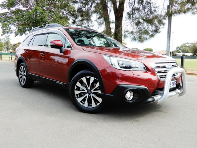 Used Subaru Outback B6A MY16 2.5i CVT AWD Premium, 2016 Subaru Outback B6A MY16 2.5i CVT AWD Premium Valencia Red/black 6 Speed Constant Variable Wagon