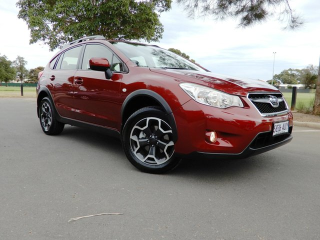 Used Subaru XV G4X MY13 2.0i Lineartronic AWD, 2012 Subaru XV G4X MY13 2.0i Lineartronic AWD Valencia Orange 6 Speed Constant Variable Wagon