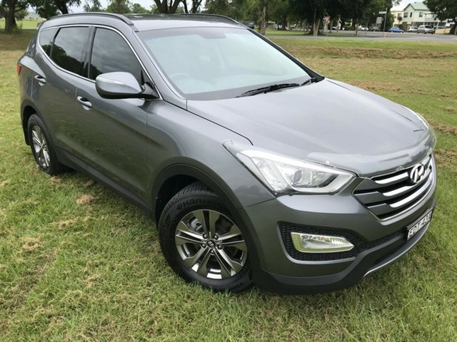 Used Hyundai Santa Fe DM MY14 Active, 2013 Hyundai Santa Fe DM MY14 Active Titanium 6 Speed Sports Automatic Wagon