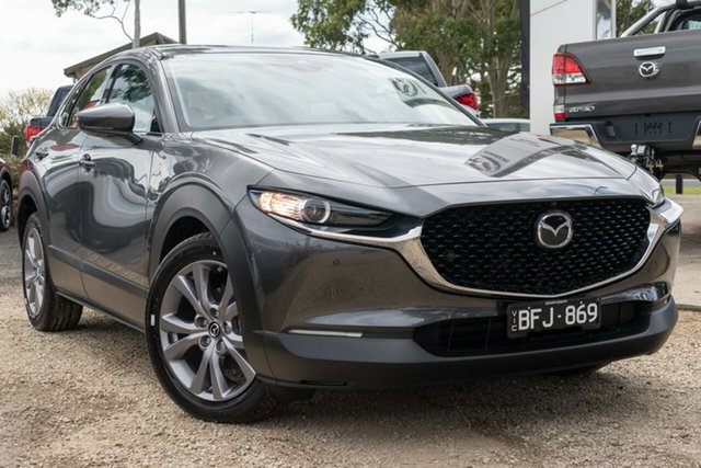 Used Mazda CX-30 DM2WLA G25 SKYACTIV-Drive Touring, 2020 Mazda CX-30 DM2WLA G25 SKYACTIV-Drive Touring Grey 6 Speed Sports Automatic Wagon