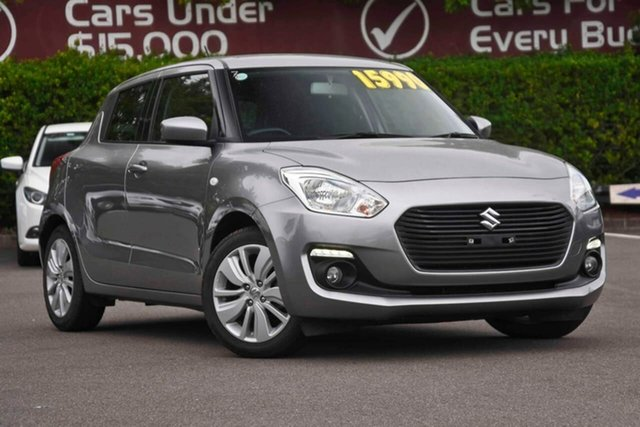 Used Suzuki Swift AZ GL Navigator Safety Pack, 2017 Suzuki Swift AZ GL Navigator Safety Pack Silver 1 Speed Constant Variable Hatchback