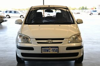 2004 Hyundai Getz TB GL Noble White 5 Speed Manual Hatchback