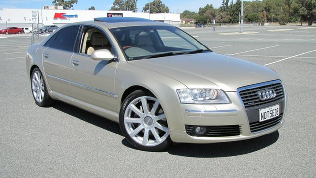 Used Audi A8 D3 MY2006 TDI Quattro, 2007 Audi A8 D3 MY2006 TDI Quattro Gold 6 Speed Sports Automatic Sedan