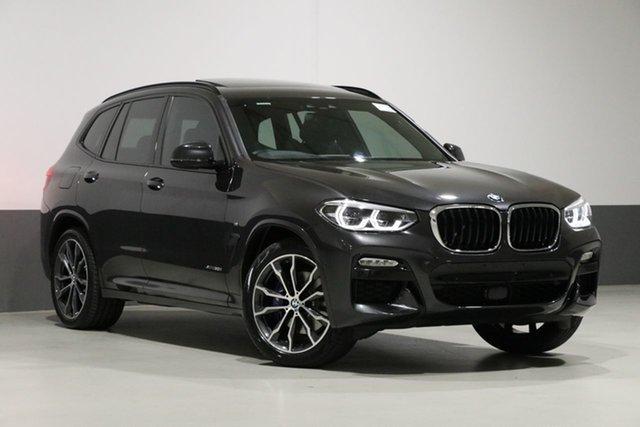 Used BMW X3 G01 xDrive30i M Sport, 2018 BMW X3 G01 xDrive30i M Sport Sophisto Grey 8 Speed Automatic Wagon