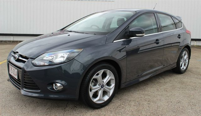 Used Ford Focus LW MkII Sport PwrShift, 2013 Ford Focus LW MkII Sport PwrShift Grey 6 Speed Sports Automatic Dual Clutch Hatchback