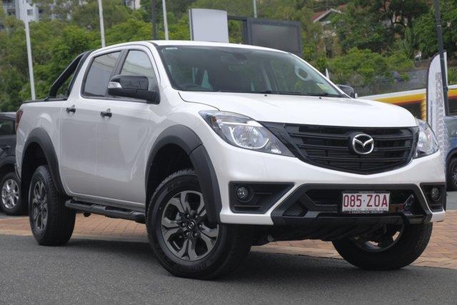 Demo Mazda BT-50 UR0YG1 Boss, 2019 Mazda BT-50 UR0YG1 Boss Snowflake White 6 Speed Sports Automatic Utility
